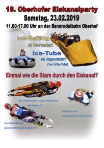 18. Oberhofer Eiskanalparty @ Rennrodelbahn Oberhof