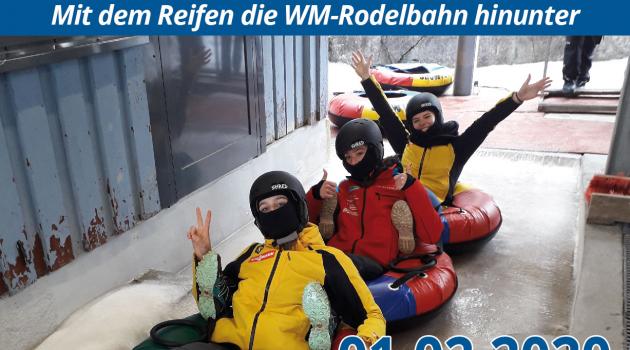 Icetubing Oberhof – Adrenalin Pur!