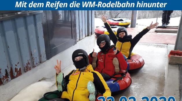 Wieder Icetubing Oberhof – Adrenalin Pur!