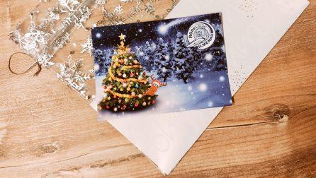 Weihnachtswünsche und Danksagung