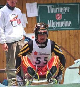 Jens Müller am Start 1, FIL-Cup 1999