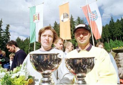Die Zeitschnellsten 1999, Anna Orlowa und Jens Müller